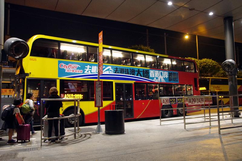 香港の空港バス