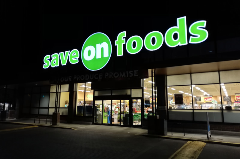 スーパー save on foods
