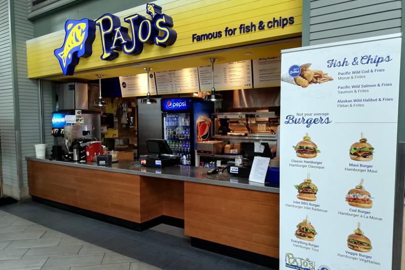 Pajo's バンクーバー空港店