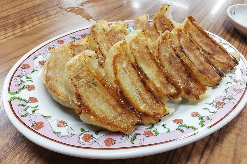 餃子の王将 浜松店 食べ放題の餃子