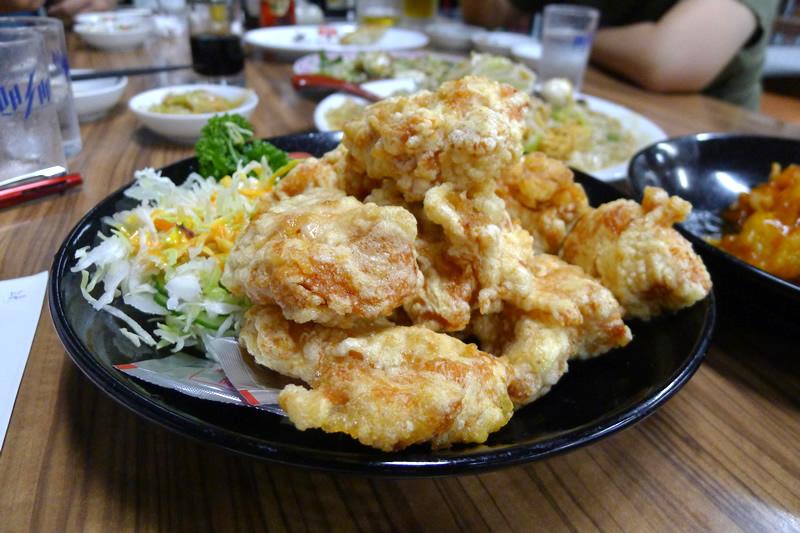 餃子の王将 浜松店 鶏唐揚