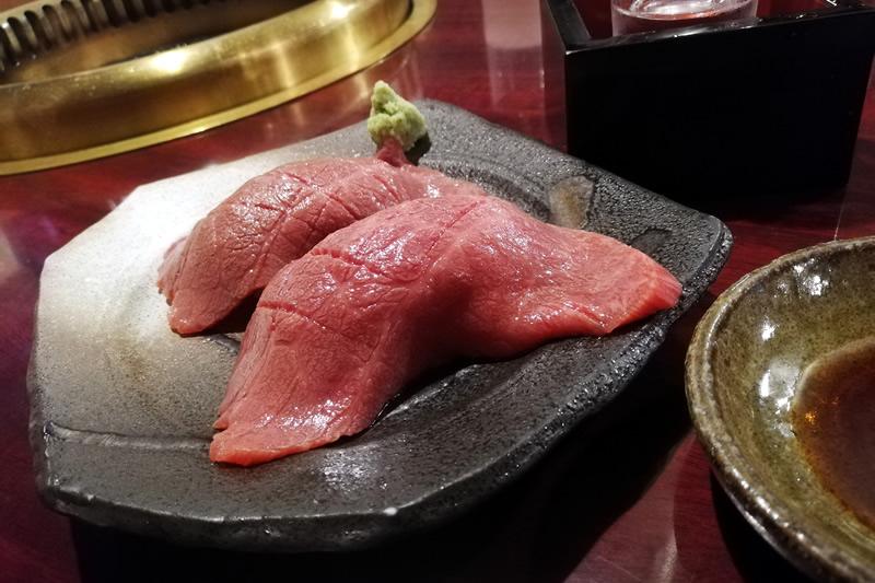 焼肉えん 肉寿司