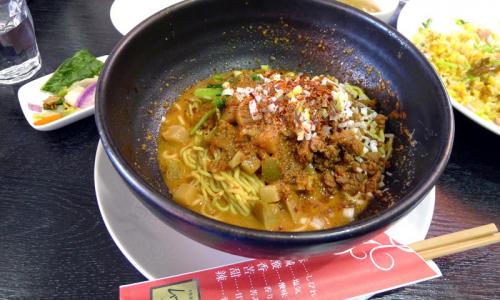 本格新中国料理ムーラン 汁なし担々麺