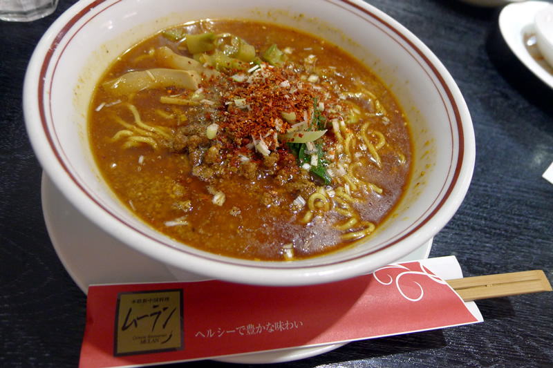 本格新中国料理ムーラン 四川担々麺