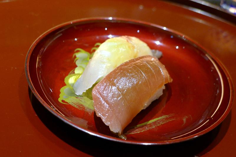 彩席かわかみ 握り寿司