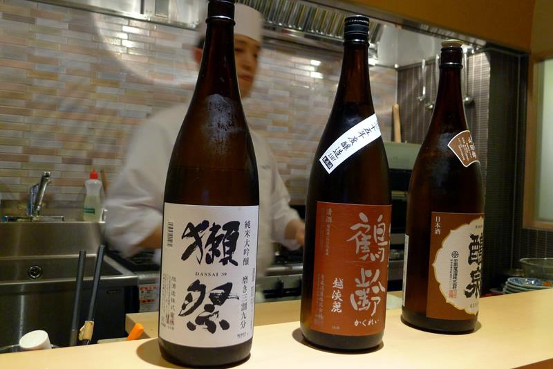 彩席かわかみ 獺祭など日本酒多数